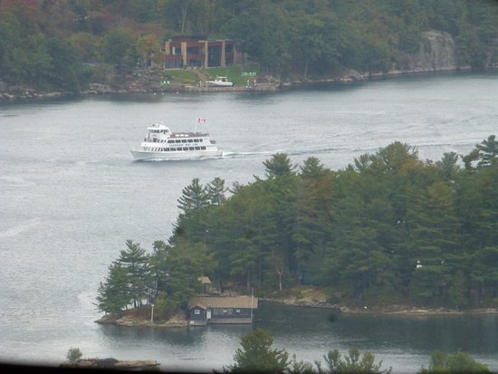 Lansdowne, Canadá: 1000 islands ferryboat