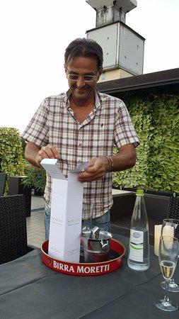 Borgo Maggiore, San Marino: Fabio, a tremendous host!
