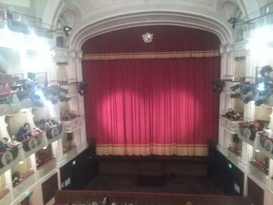 Rovigo, إيطاليا: Palco del teatro Sociale di Rovigo