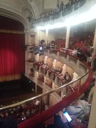 Teatro Sociale di Rovigo: Panoramica palchi, loggia e loggione