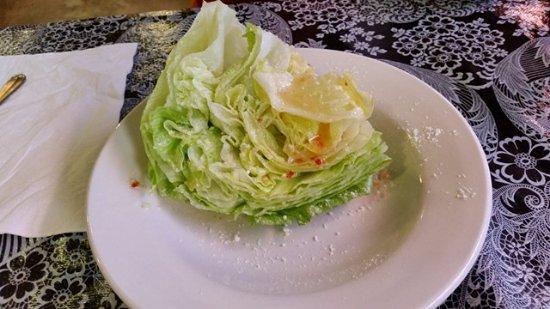 Higginsville, Missouri: Wedge Salad