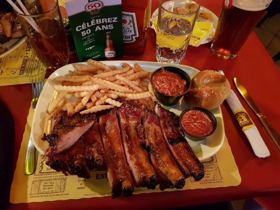 Bar B Barn : Half Hawg 6 Midi Ribs