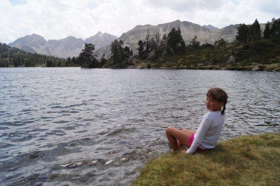 Réserve Naturelle du Néouvielle : Lac d'Aumar