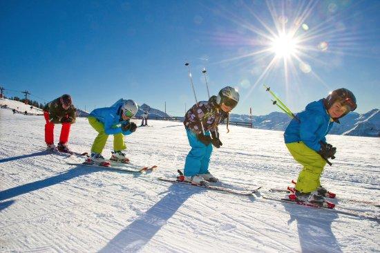 Grossarl, Østerrike: Skifahren mit der ganzen Familie im Großarltal
