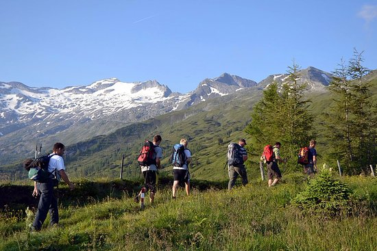 Grossarl, Østerrike: Wandern mit BERG-GESUND