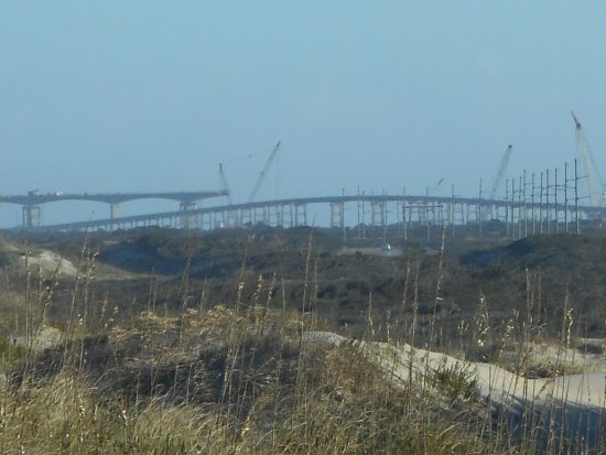 Hatteras Island, NC: Bonner Bridge (Old and New) to Pea Island on Outer Banks