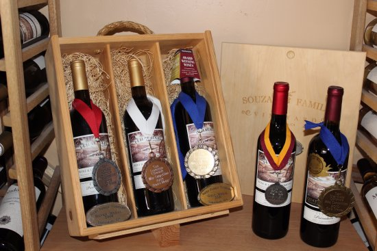 Tehachapi, CA: Award winning wines