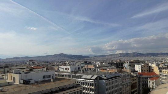 Titania Hotel: Vista sobre a cidade