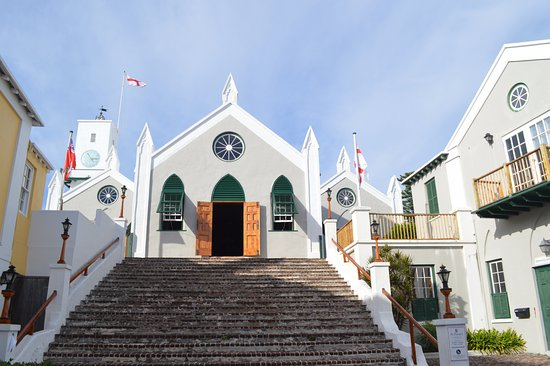 Sandys Parish, Bermuda: church in St Georges