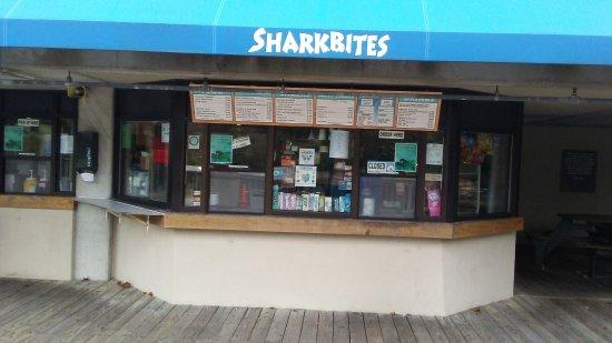 Kure Beach, NC: snack bar