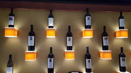 Rutherford, Californië: Wine rack