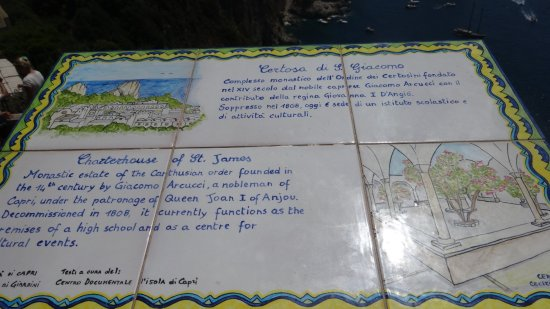 La Certosa di San Giacomo: Certosa di San Giacomo - History