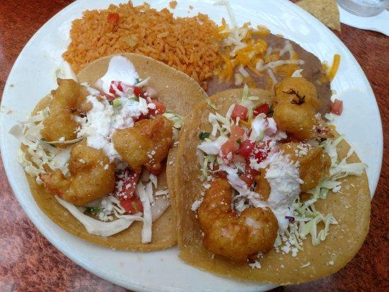 Miguel's Cocina : Shrimp Tacos