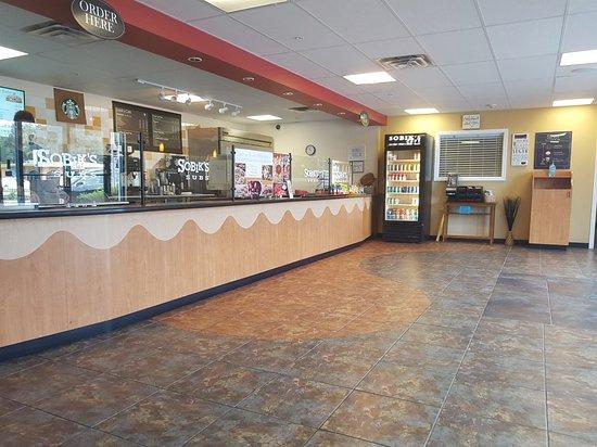 Longwood, FL: Binnenzijde winkel