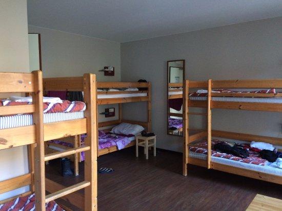 Wombat's City Hostel: Quarto novo e espaçoso