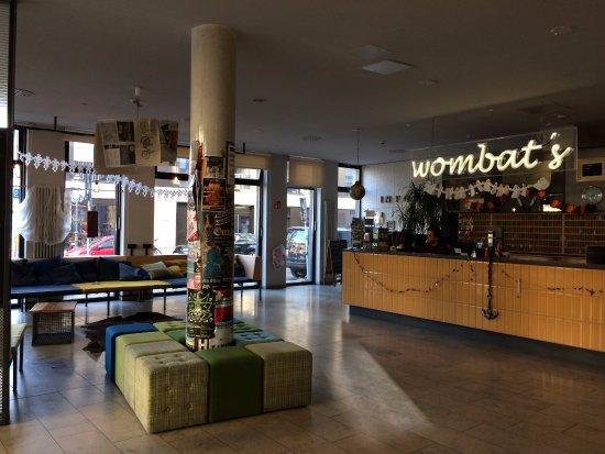 Wombat's City Hostel: Recepção