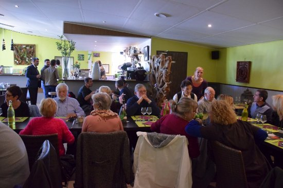 Le Cres, Frankrig: Repas de groupe le 8-11-2017
