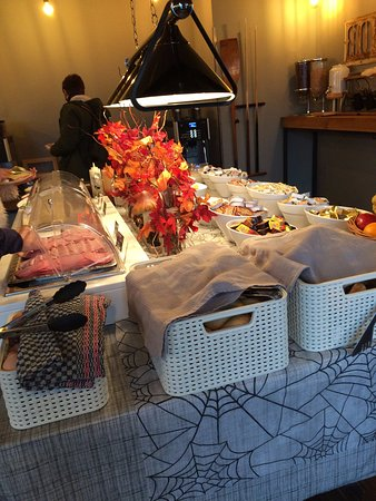Wombat's Berlin: Café da manhã