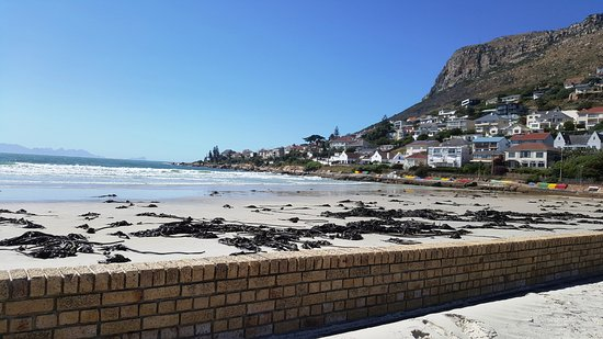 Fish Hoek, South Africa: view from next to the restaurant