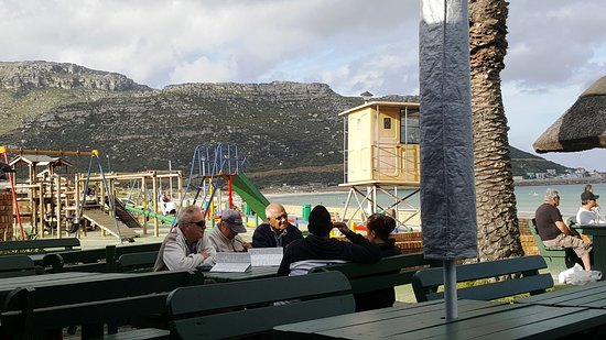 Fish Hoek, South Africa: Outside deck