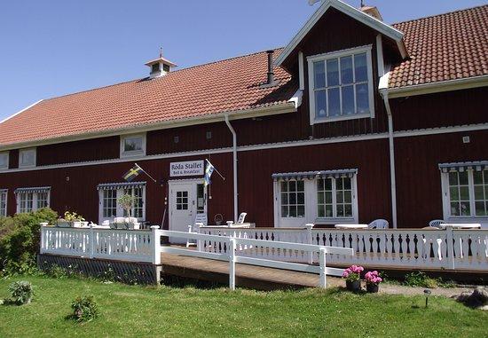 Hjo, İsveç: Ingången