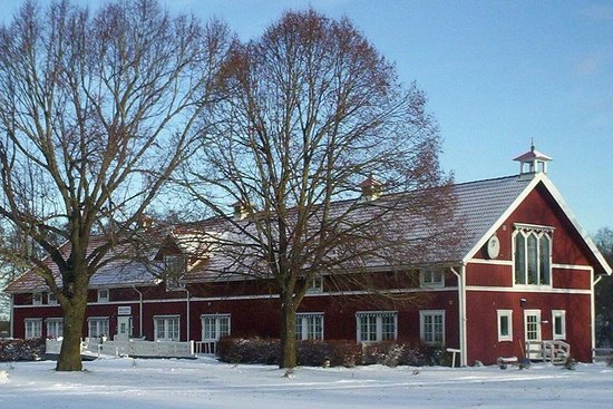 Hjo, Suecia: Vinter