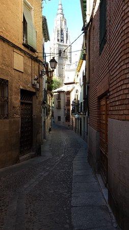 Santa Isabel la Real: View from hotel