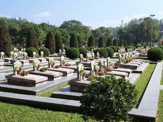Dien Bien Phu, Vietnam: cemetery