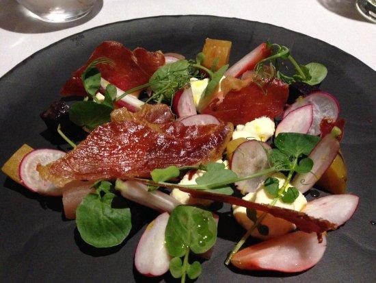 Burton Leonard, UK : A wonderful salad