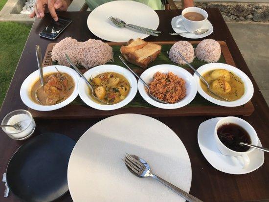 Talalla, Sri Lanka: Sri Lankan breakfast