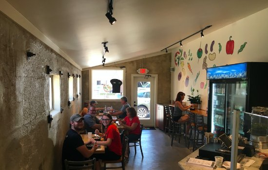 Petersburg, VA: Inside dining