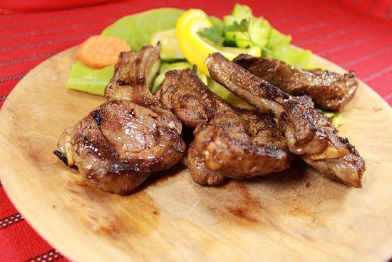 Vatra: Lamb chops