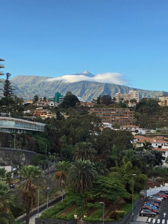 Be Live Experience Orotava: View to Pico del Teide from our balcony