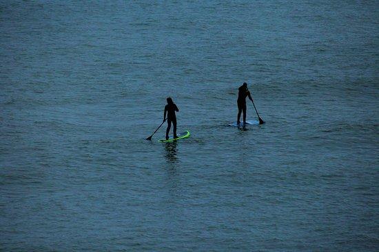 Paddle Boarders at Marconi Beach, Cape Cod (Nov.2016)