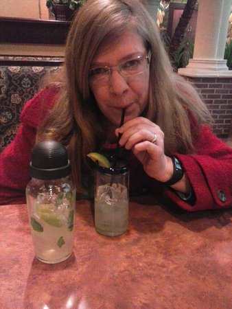 "Crestview Hills, KY: the missus enjoying ""my"" mojito."