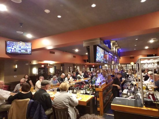 Waltham, MA: overview of restaurant and bar