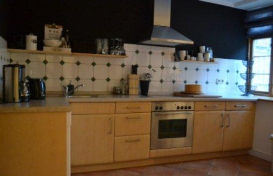 Rehna, เยอรมนี: Küche, für die Gäste nutzbar