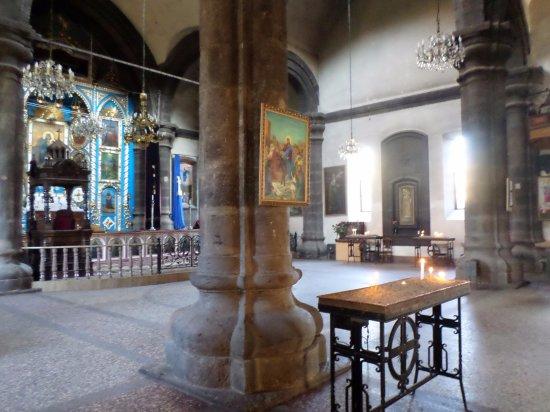 Gyumri, أرمينيا: L'interno della chiesa