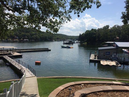 Lake Ozark, MO: View of Gas Dock/Fishing Dock by Studio #5