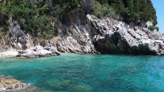 Gouvia, Greece: Scenery on trip