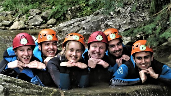 Canyoning Lab Enjoy Water: In canyon con amici Tedeschi....very nice