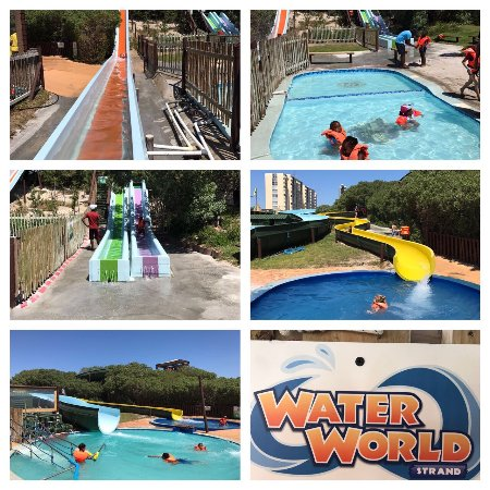 Some of the fun activities at Waterworld Strand