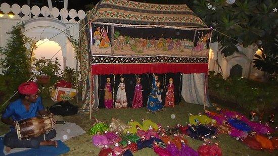 Shahpura House: Puppet Show