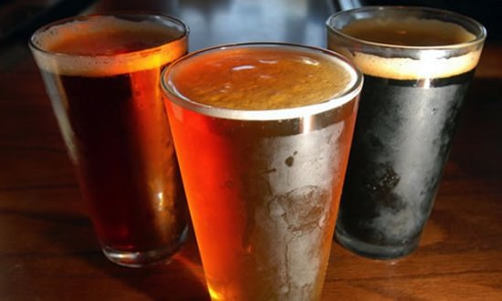 Erin, Kanada: Local craft beers on tap