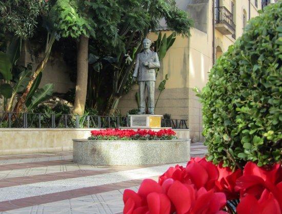 Escultura del Alcalde Sánchez Prados