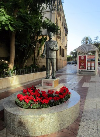 Escultura del Alcalde Sanchez Prados