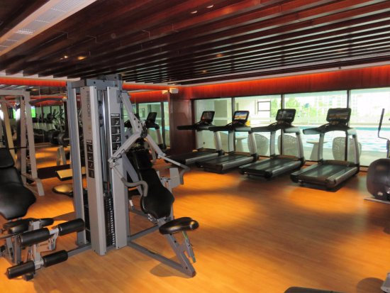 Shantou, China: Exercise room