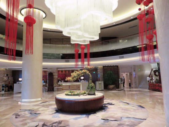 Shantou, China: Lobby