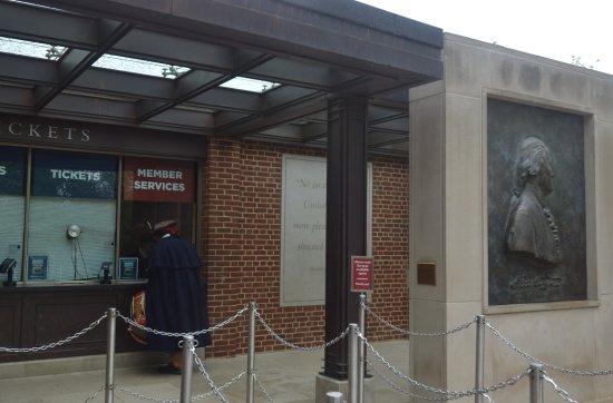 George Washington's Mount Vernon: la biglietteria