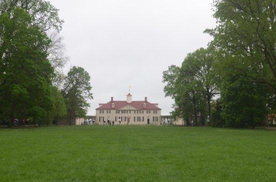 George Washington's Mount Vernon: la casa ed il giardino